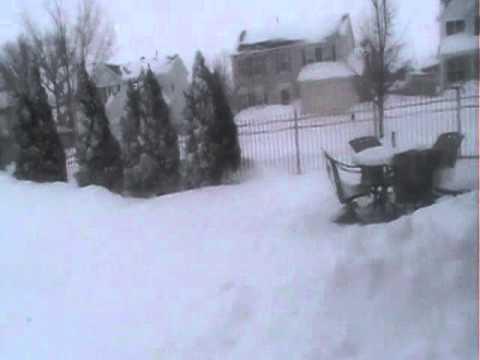 Antioch Illinois SNOW