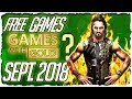 XBOX Games with Gold September 2018 Predictions / XBOX September 2018 Lineup