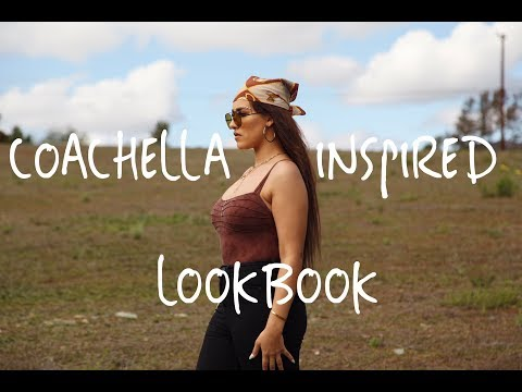 COACHELLA INSPIRED LOOKBOOK | FESTIVAL SERIES