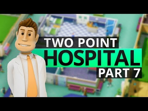 Two Point Hospital | TRAINING THE STAFF (#7)