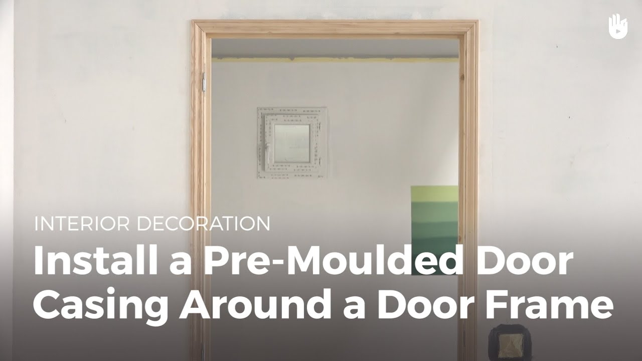 Install Moulded Door Lining | DIY Projects - YouTube