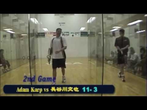 (3/7) ラケットボールIRT Japan 1998年サテライトツアー