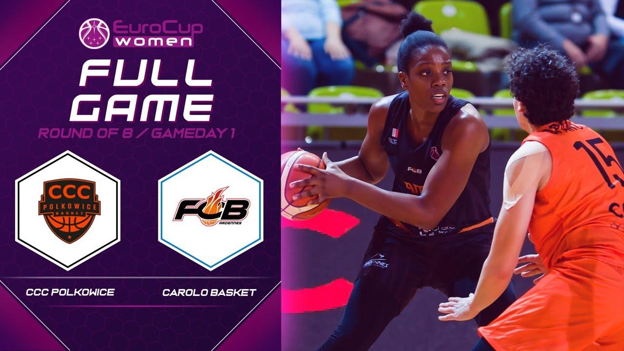 CCC Polkowice v Carolo Basket - Full Game - EuroCup Women 2019