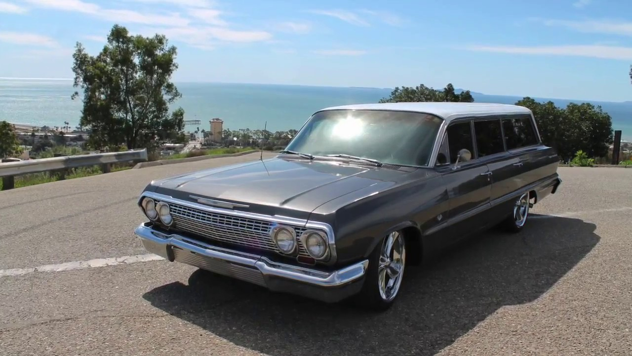 1963 Chevy Bel Air Wagon