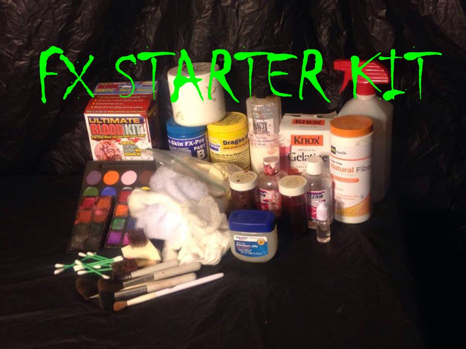 Makeup Starter Kit Sfx Beginners