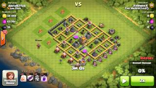 CLASH OF CLANS (One Troop All Healer Series) =ALL HEALERS & ONE DRAGON=