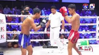 ធា រិទ្ធី Vs សយ សី, TV5 Knock Out, 19/May/2018 | Khmer Boxing Highlights