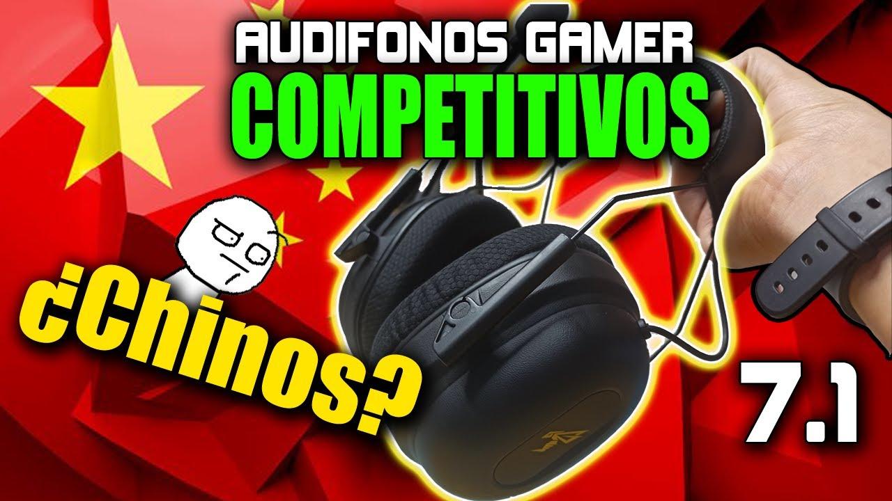 Audífonos Chinos competitivos 7.1 | ¿Valen la pena?