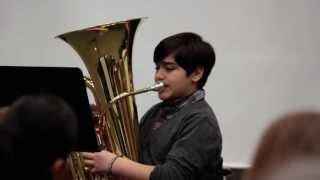 Evan's Tuba Solo