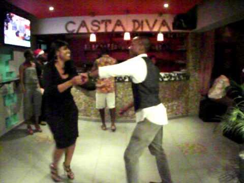 Salsa in Osu Accra, Ghana - Melissa and Shon