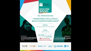 ESA 2020 - 3° Módulo electivo - Comunidad, Arte y Cultura