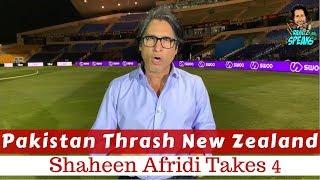 Pakistan Thrash Newzealand | Shaheen Afridi takes 4 | 2nd ODI