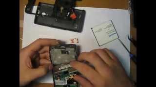 Ремонт Philips Xenium W6500 - Замена динамика (speaker).(Телефон пришел с не работающим разговорным динамиком. При диагностики было выявлено, что была повреждена..., 2015-09-21T20:32:26.000Z)