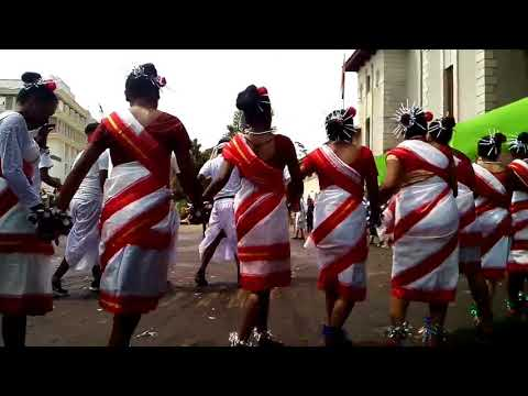 Jharkhand seminar culture dance at Spicer Adventist University, Pune on 2nd october 2017