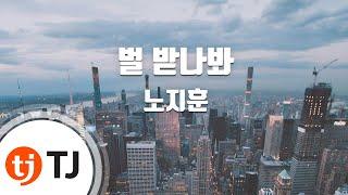 Punishment 벌받나봐_Roh Ji Hoon 노지훈_TJ노래방 (Karaoke/lyrics/romanization/KOREAN)