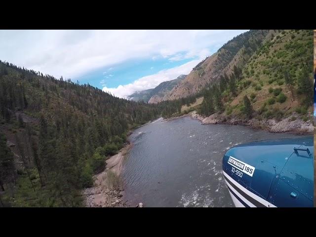 Wilson Bar Idaho Backcountry Cessna 185