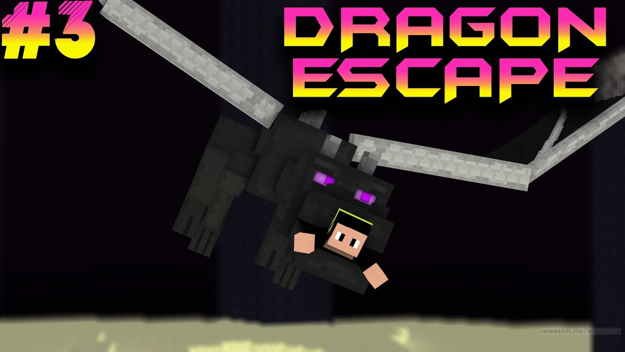 "Download ""CRAFTRİSE REKORU!"" mu? - Minecraft Dragon Escape (Ejderhadan Kaçış) #3"
