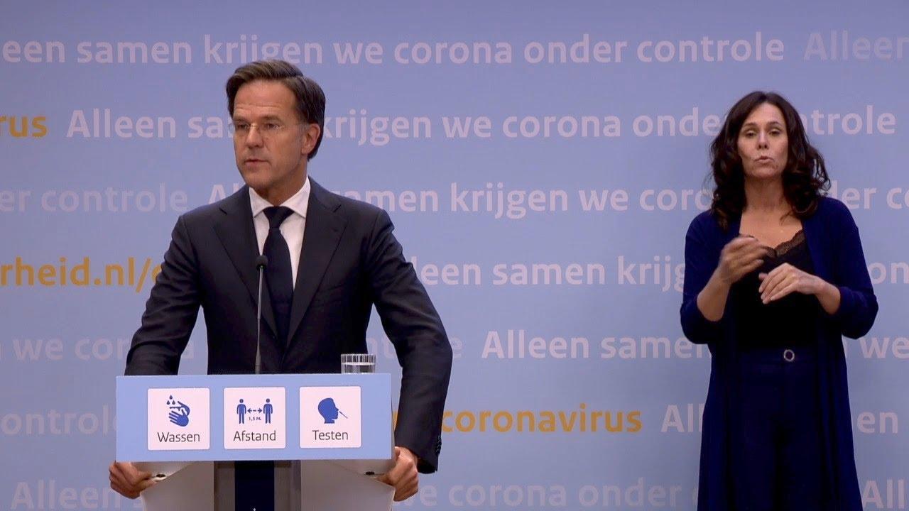 9 juli 2021: Inleidend statement premier Rutte en minister De Jonge -  YouTube