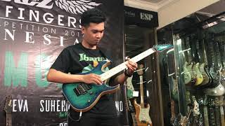 1st Place Winner IBANEZ Flying Fingers Indonesia 2017 Winner Track