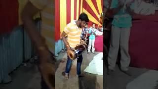 Kishan at his best..............limbala navratra mahotsav 2016