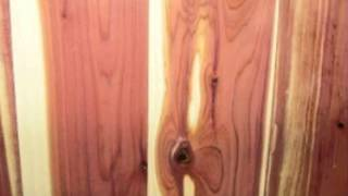 aromatic red cedar boxes