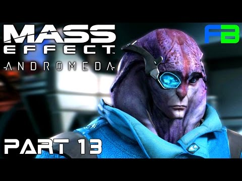 Mass Effect Andromeda Gameplay: Part 13 - New Species