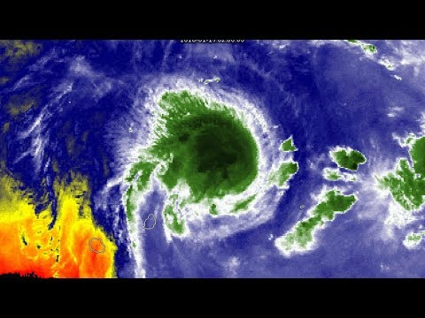 [Mauritius] Cyclone Berguitta Update - 8am MUT Jan 17, 2018