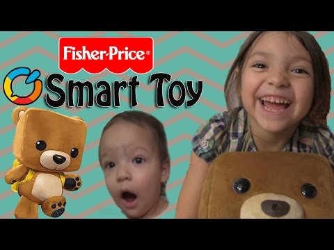 Ari Unboxing The Fisher-Price Smart Interactive Bear Toy