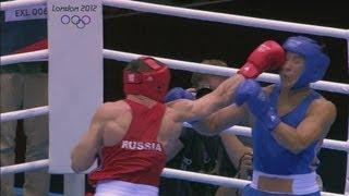 Mekhontcev Wins Boxing Gold For Russia - London 2012 Olympics