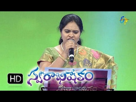 Bangaru Bomma Raveme Song - Gopikaa Purnima Performance in ETV Swarabhishekam - 8th Nov 2015