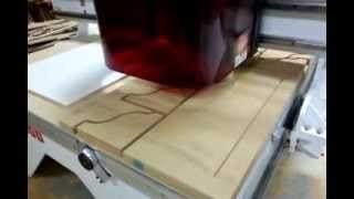 """Thermwood Cnc Routering 1.25"""" MDF Shelf Supports"""