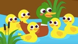 Beş Küçük Ördek | En Güzel Çocuk Şarkıları | 1 Saat Kesintisiz