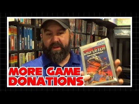 More Game Donations