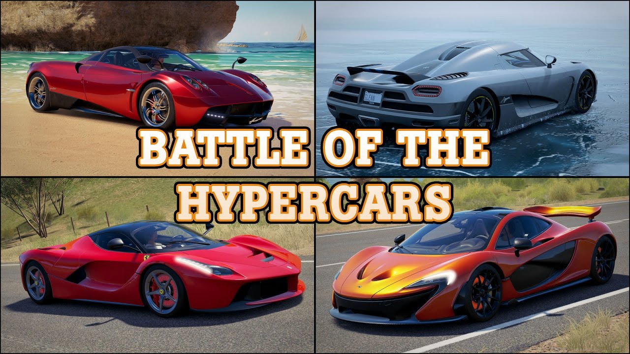 Forza Horizon Battle Of The Hypercars Youtube