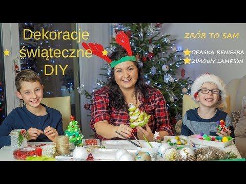f404b081cdfddb Dekoracje świąteczne z PEPCO / opaska renifera / zimowy lampion / DIY -  YouTube