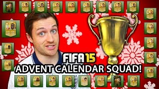 XMAS ADVENT CALENDAR SQUAD! - FIFA 15 ULTIMATE TEAM Thumbnail