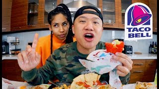 Wifey Argument During Muk Bang - Taco Bell Entire Menu!