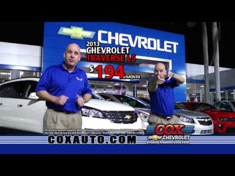 Cox Chevrolet Bradenton >> Double Rebates Month At Cox Chevrolet In Bradenton Fl