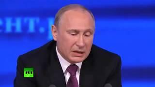 Путин говорит правду народу России Игра словами пародия