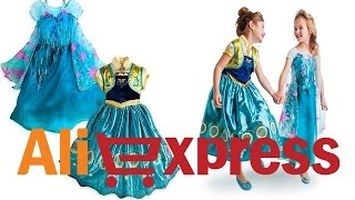 Fantasia Frozen Fever - Elsa e Anna - Unboxing - Aliexpress/ Adriana Luna