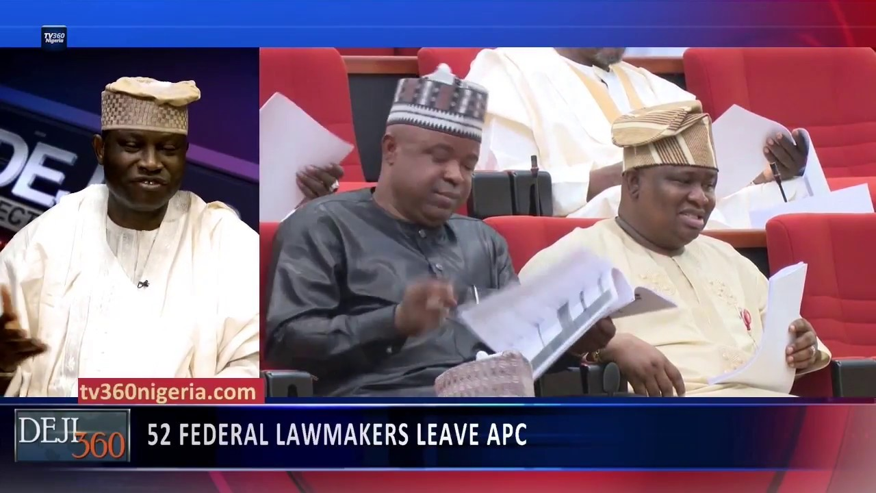 Deji 360 EP 215 Part  2: Over 50 Lawmakers leave APC in National  Assembly