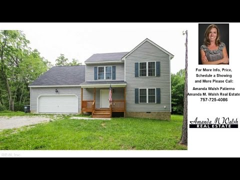 2877 CHICKAHOMINY, James City County, VA Presented by Amanda Walsh Patierno.