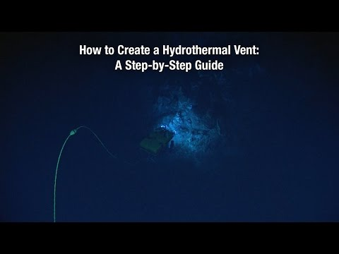 How to Create a Hydrothermal Vent: A Step-by-Step Guide
