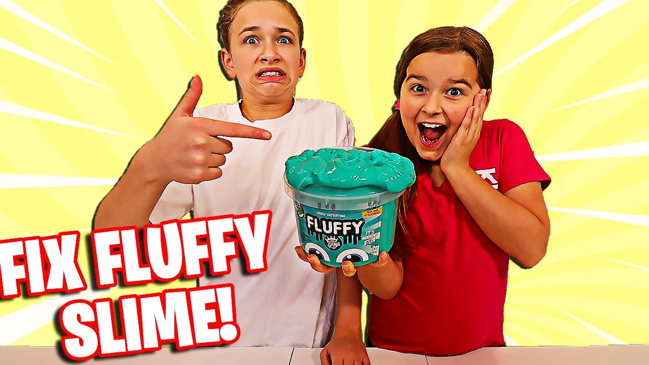 Download FIX THIS STORE BOUGHT FLUFFY SLIME CHALLENGE! | JKREW