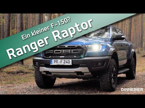 Der Ford Ranger Raptor - Wir Testen Das Monster   DINNEBIER TV