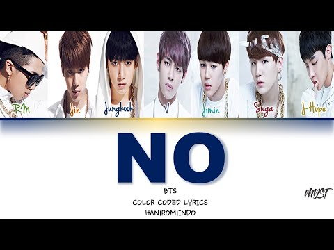 BTS - NO Lirik Terjemahan Indonesia   Sub Indo