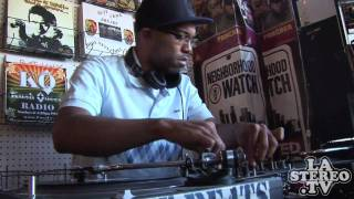Mr Funky President: J Rocc Spinning  - Last Day of Fat Beats