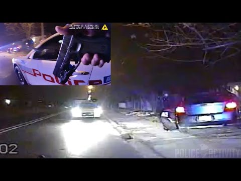 Dashcam/Bodycam Shows Police Shootout In Baton Rouge, Louisiana