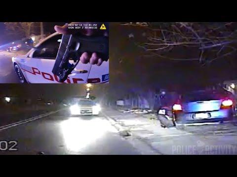 Dashcam/Bodycam Shows Police Shootout In Baton Rouge, Louisiana