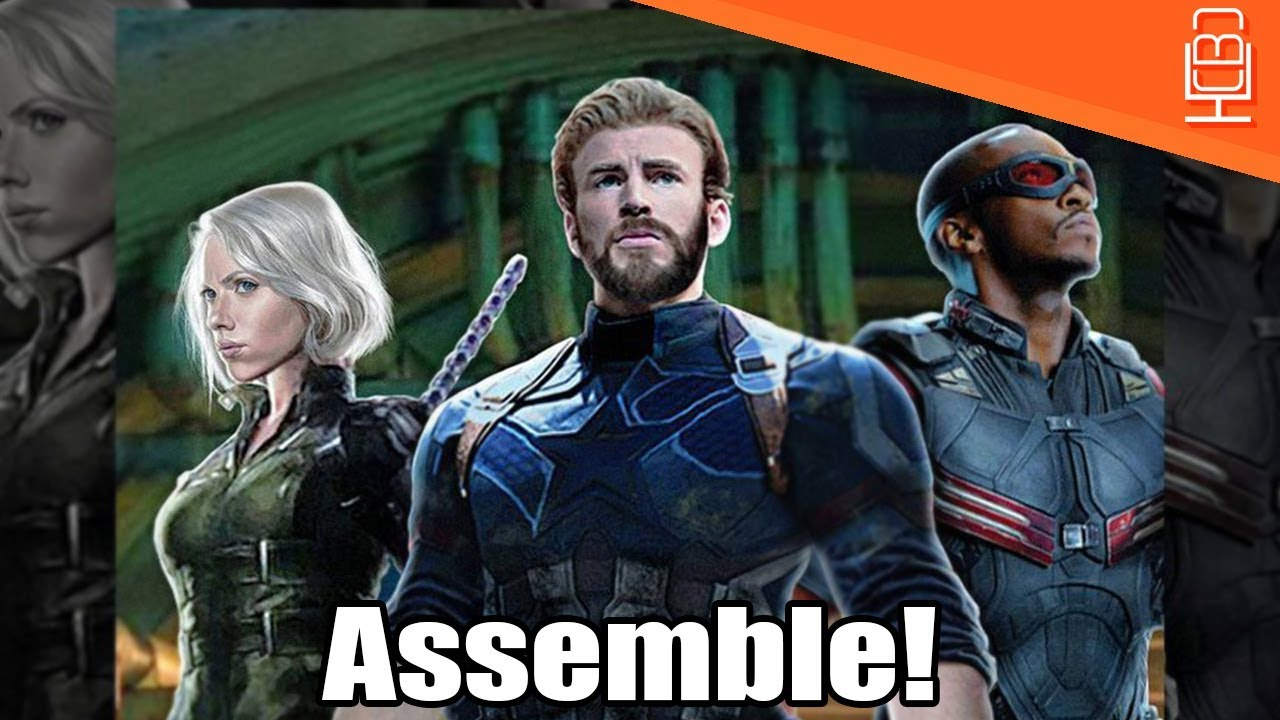 Avengers Infinity War Promo Reveals Nomad, The Falcon & Black Widow